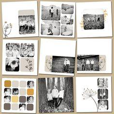 layout family album