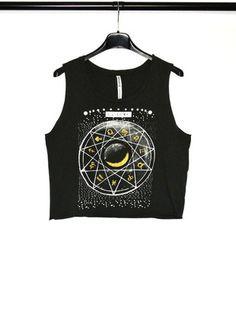 Kup mój przedmiot na #vintedpl http://www.vinted.pl/damska-odziez/koszulki-na-ramiaczkach-koszulki-bez-rekawow/13941228-szary-t-shirt-top-wzory-stradivarius-nowe
