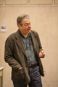 Roger Allam, Murder Mysteries, Detective, Men Sweater, British Actors, Blazer, Vip, Jackets, Actresses
