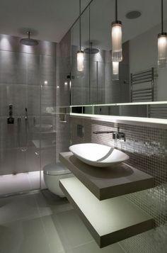 Une salle de bains #moderne et #design...
