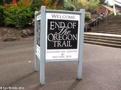 Image, 2011, End of the Oregon Trail, Oregon City, Oregon, click to enlarge