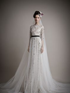 Ersa Atelier Wedding Dresses 2015 - I don't like the front of the skirt as much as the back.