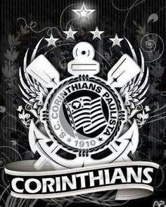 Sport Club Corinthians Paulista Corinthians Time, Sport Club Corinthians, Sports Clubs, Sports Games, Cellphone Wallpaper, Galaxy Wallpaper, Corinthian Fc, Captain Tsubasa, Best Club