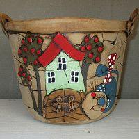 Prodané zboží | Fler.cz Plant Pots, Potted Plants, Pasta Piedra, Fungi, Clay, Simple, Pattern, Dress, Design