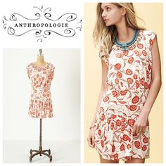 Anthropologie Scattered Stellata dress - by Leifnotes size M