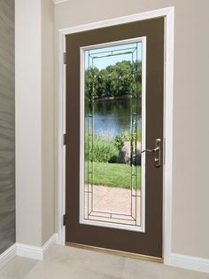 Shop all of our Prefinished Steel Burnished Slate Exterior Doors by Mastercraft®