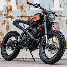 Go look at several of my most desired builds - specialty scrambler designs like Tracker Motorcycle, Scrambler Motorcycle, Motorcycle Design, Bobber, Cafe Racer Parts, Cafe Racer Bikes, Harley Davidson Scrambler, Harley Davidson Bikes, Custom Motorcycles