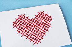 3 Simple Ways to Cross-Stitch Your Valentine's Goodies   Brit + Co.