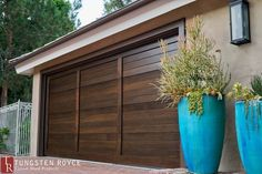 Give your home a unique feel with contemporary or modern garage doors. Custom-built garage doors from Tungsten Royce, schedule a free appointment today! Unique Garage Doors, Contemporary Garage Doors, Modern Boho, Modern Contemporary, Garage Door Installation, Garage Exterior, Steel House, Garage Design, New Homes