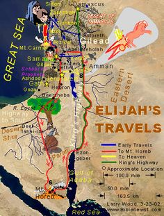 Where Is Mount Horeb On a Map | How far is it from Mt Carmel to Mt Horeb in the…