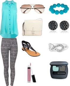 """Blue Summer"" by purplesagerocks on Polyvore"