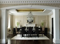 """According to luxury interior design practice Oliver Burns, there is a fusion of classical and contemporary detail that has created the quintessential British eclecticism. """"Tradition plays a key part in British interiors,"""" says Katia Perez, head of design at the practice. """"British homes are full of history, and although they are classic, there is now a move towards a style that mixes old and new to fit with modern lifestyles (ex. palatial Georgian period detailing)"""