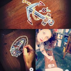 Legno tatuato