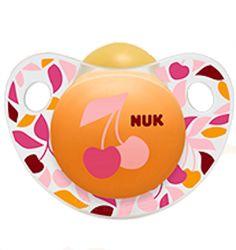 NUK Trendline Adore Pacifier Orthodontic 0-6 Months BPA Free Latex (4883-3) #NUK