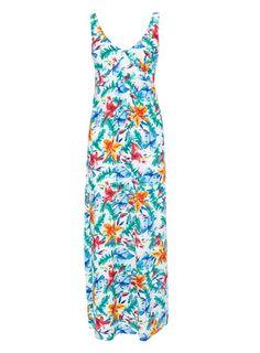 Garden Lily Printed Maxi Dress. Fashion a656072f50