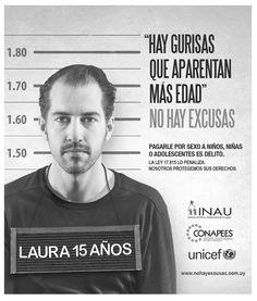 INAU, CONAPEES y UNICEF, lanzaron campaña contra la explotación sexual comercial de niños, niñas y adolescentes.