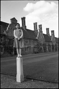 "Saatchi Art Artist Paul Cooklin; Photography, ""Edition 2/10 - Girl on Pillar, Blickling Estate, Norfolk"" #art"