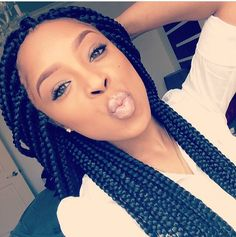 65 Box Braids Hairstyles for Black Women