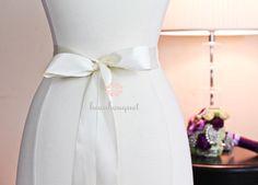 Bridal Sash Belt Bridal Beaded Crystal Sash For by beauBouquet, $150.00