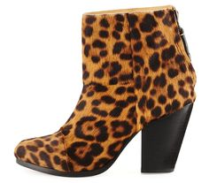 Rag and Bone Classic Newbury Calf Hair Bootie