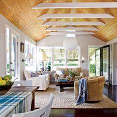 22 Creative Room Makeovers | Vaulted Ceilings | CoastalLiving.com