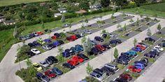 SMA Car Park, Kassel by Latz, Riehl, Partner Parking Space, Parking Lot, Car Parking, Parking Solutions, Parking Design, City Art, Pavement, Ecology, Landscape Architecture