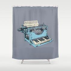 The Composition. Shower Curtain by Matt Leyen - $68.00