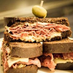 Reuben Sandwiches@for your St Pats snacks and picled Herring!@Pinterest my like!@Sherry Dennis@