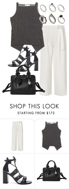 """Untitled #3454"" by bubbles-wardrobe ❤ liked on Polyvore featuring L.K.Bennett, Alexander Wang, Yves Saint Laurent, Alexander McQueen and ASOS"