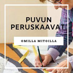 Piirrä Puvun peruskaavat omilla mitoilla -kurssille ilmoittautuminen Website, Bakken