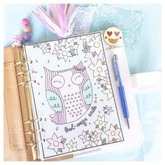 Don't forget to owl-ways smile Planner Dashboard, Cute Planner, Planner Inserts, Sweet Dreams, How To Draw Hands, Owl, Bullet Journal, Printables, Tgif