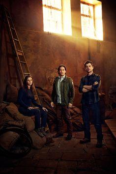 Jordan Hayes as Dr. Sarah Jordan, Neil Napier as Dr. Peter Farragut and Matt Long as Dr. Kyle Sommer.