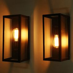 LED Cubic Wall Light Beside Modern Indoors Lights Sconce Lamp Fixtures. Indoor modern design LED Wall Light Industrial Exterior Lamp Fixtures. Classic and stylish, this rectangular shaped retro style wall light adds a touch of historic charm to your home. | eBay!