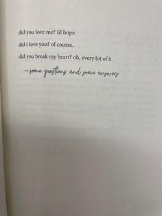 #selfcare #poem #heart #heartbreak You Broke My Heart, You Broke Me, My Heart Is Breaking, Qoutes For Him, I Love You, Tattoo Quotes, Poems, Te Amo, Je T'aime