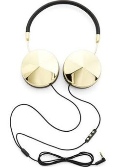 Frends with Benefits 'Taylor' Headphones Gold and Black