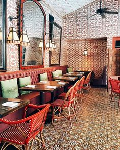 The Purple Palm restaurant is Spanish meets Old Hollywood in Palm Springs' Colony Palms hotel.   Get our beautiful new app (featured as a Best New App in the App Store) to find more incredible places: Spot.com.