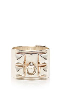 Hermes sterling silver collier de chien bracelet by HERITAGE AUCTIONS SPECIAL COLLECTION for Preorder on Moda Operandi