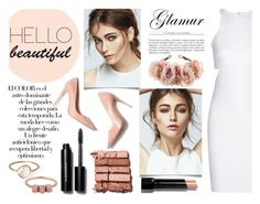"""""""Party Girl - contest"""" by mysecretismine ❤ liked on Polyvore featuring Arco, Elizabeth and James, Bobbi Brown Cosmetics, Rock 'N Rose, Parisi, women's clothing, women, female, woman and misses"""