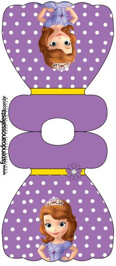 Convite Vestido Princesa Sofia da Disney: