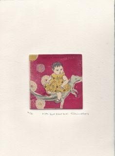 Gravures & Estampes | Atsuko Ishii | Rien que pour moi | Tirage d'art en série limitée sur L'oeil ouvert Artwork, Artist, Etchings, Prints, Open Set, Work Of Art, Artists