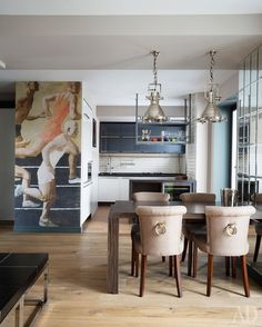 Динамичная квартира в Москве, 88 м² | Интерьеры в журнале AD | AD Magazine