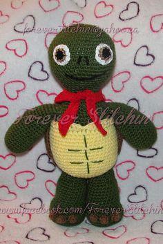 Ravelry: Franklin Turtle Crochet Pattern by Forever Stitchin pattern by Forever Stitchin