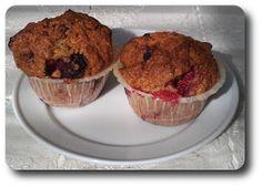 Muffins med Hindbær og Vanille ~ Spis Med