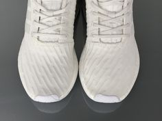 "a9464bcdf3ff6 Adidas NMD R2 Primeknit ""WhiteSilver"" BY2245 Women Ladies Girls Real Boost   36-"