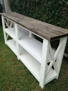 Sofa Table/Media Console by ReclaimedYankee on Etsy, $480.00