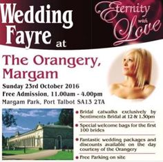 Looking Forward To Paring At The Eternity With Love Limited Wedding Fayre This Coming Sunday 23rd