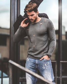 "179.5 mil curtidas, 793 comentários - Mariano Di Vaio (@marianodivaio) no Instagram: ""Gipsy destroyed style for my new capsule of @NOHOW  check out our made in italy collection on…"""