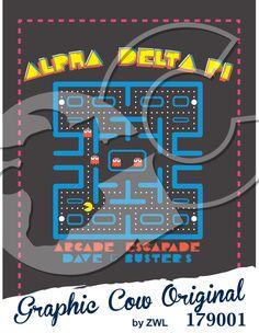 Arcade Escapade Mixer #adpi #mixerideas #grafcow