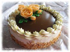 So beautiful! Fudge Cake, Cake Decorating Tutorials, Creative Cakes, Chocolate Cake, Sweet Recipes, Frosting, Bakery, Cheesecake, Deserts
