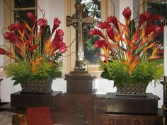 The Chapel of the Cross Flower Guild: Pentecost - June 12, 2011..... would need a large area for these.